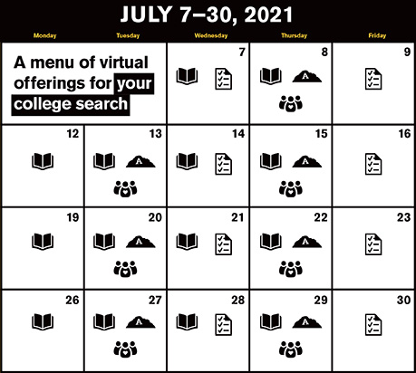 Sessions calendar