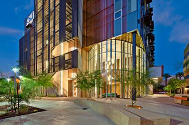 Health South and Health North Buildings at ASU's Downtown Phoenix campus