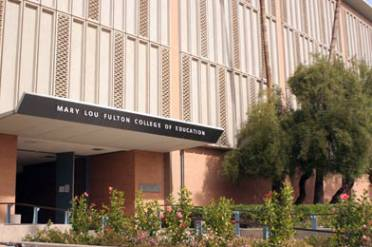 H.B. Farmer Education Building at ASU's Tempe campus