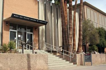 Education Lecture Hall at ASU's Tempe campus