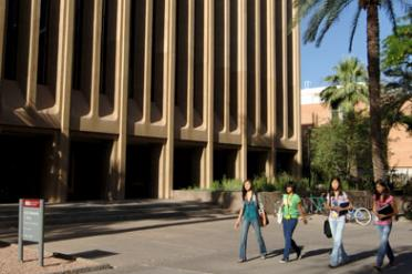 Life Sciences Center on ASU's Tempe Campus
