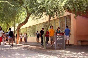 Physical Education East building on ASU's Tempe campus