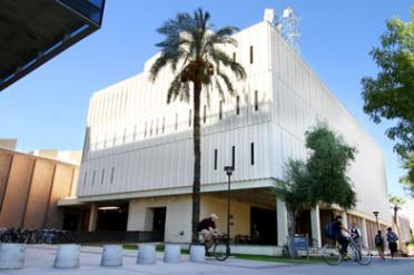 Stauffer Communication Arts on ASU's Tempe campus
